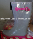 fashion rubber rain boots