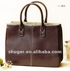 Vogue Style Simple Design Handbag Coffee QZ12092618-11