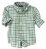 Plaid casual children shirts 2012