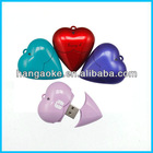 best sell heart shape usb flash drive