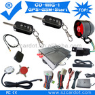 Top Quality GSM car alarm ,GPS tracking,moble start,remote start,one key start modes,SMS alarm,flip key programmable