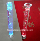 LED crystal stair handrail column / LED Garden Crystal Light / LED Color crystal lamp