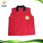 Custom promotional screen printed vest