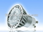 Hot selling LED GU10 3w spotlight 180-200LM CE/RoHS/C-tick approval