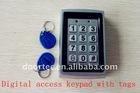 automatic door access keypad