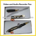 2012 high quality slim design Newest video Recorder pen/camera pen with 2GB-8GB memory