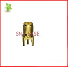 RF CONNECTOR FEMALE SOCKET SMA STR DIE CAST PCB