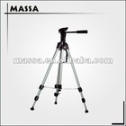 OEM logo Professional Aluminum camera tripod stand with high quality