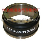 heavy truck brake drum