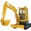 HT35 crawler excavator with 0..11m3 bucket capacity total weight 3.6T