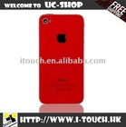 Red Glass Color Conversion Kit with Tool Kit For iPhone 4S 4G 4