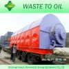 High selling quatity and popular waste tire /plastic/ engin oil distillation machine