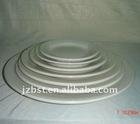 round ceramic hotelware plate