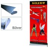 Luxury wide base roll up stand/roll up banner/exhibition display