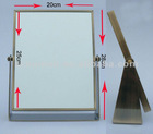 double side square standing table mirror cosmetic mirror