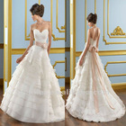 Hot popular latest modern guangzhou bridal wedding dress (BS554)