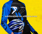 Men cycling wear sublimated heat transfer printing