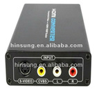 High quality Composite video and S-video to HDMI Scaler HS-CO1014