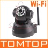 EasyN Wireless WIFI IP Camera Webcam Web Camera IR LED 2-Audio Nightvision Black, Wholesale
