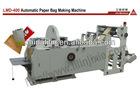 Full Automatic sharp paper bag making machine