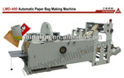 Full Automatic sharp paper bag making machine