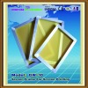 yellow and white silk screen frame for screen printing machine