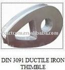 DIN3091 DUCTILE IRON THIMBLE