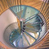 Glass Spiral staircase 9002-16