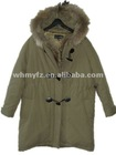 european succinct fur heavy clothes winter coat for Middle-aged women
