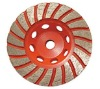 Turbo Cup Grinding wheel with steel core