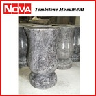 Granite Flower Pot Vase for Tombstone