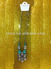 hot sell handmade turquoise and coral pendent tibetan Necklace in stock