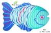 2012 Fancy Fish Shape Non-slip Decorative Floor mats/Bath Mats