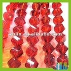 Helix glass crystal beads 5020# , loose jewelry beads in bulk