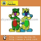 lovely cartoon embroidered design for kids clothes