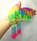Wholesale Latin Cross silicone necklace
