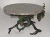 wrought iron tray