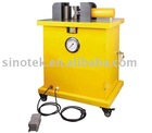 single station three-in-one shear cut bend punch machine