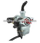 19mm Zinc Carburetor w Hand Choke Lever for 50-110cc 4-stroke ATVs, Dirt Bikes & Go Karts Parts