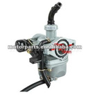 19mm Zinc Carburetor w Hand Choke Lever for 50-110cc 4-stroke ATVs, Dirt Bikes & Go Karts Parts