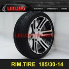 185/30-14 ATV Tires,ATV Rim,ATV Wheel