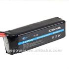 RC transmitter Lipo battery 11.1V 2200MAH 8C for 3PK 6EX Li-Polymer Battery