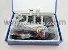 9V-16V H4 conversion xenon kits,55W H4-3 moving xenon kits,H4-3 headlight slim xenon kits 6000K