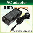 Lower price of AC adapter 18.5V3.5A for HP