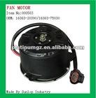 fan motor for hiace 2005-2008, hiace 200 #000563 toyota hiace Fan Motor OEM:16363-20390/16363-75030