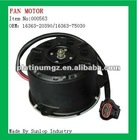 fan motor for hiace 2005-2008, hiace 200 #000563 toyota hiace Fan Motor OEM:16363-20390/16363-75030