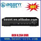 2012 hot selling H.264 , 4ch CCTV car DVR BS-H08A
