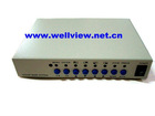 Mini 4CH Color QUAD System for CCTV