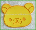 Large machined mold press silicone rubber mat