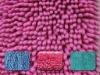 shaggy yarn fabric